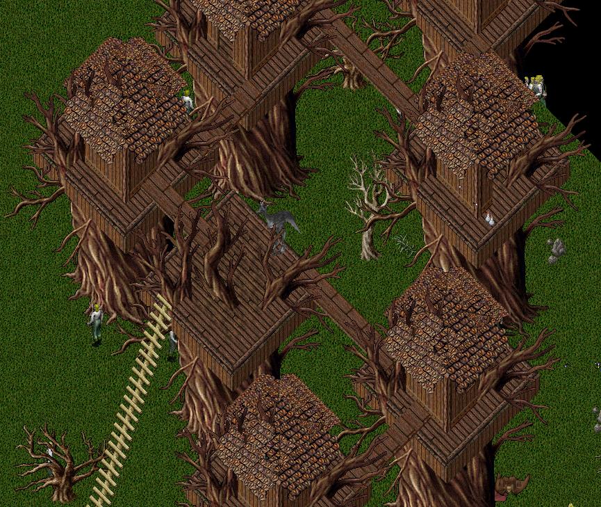 Ultima Online Halloween 2020 Ultima Online | UODemise | Halloween Town | 2019 | Elf Tree House