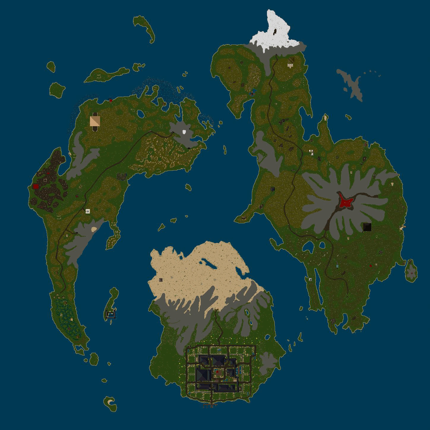 Ultima Online | Location Map Tokuno | UODemiseGuide