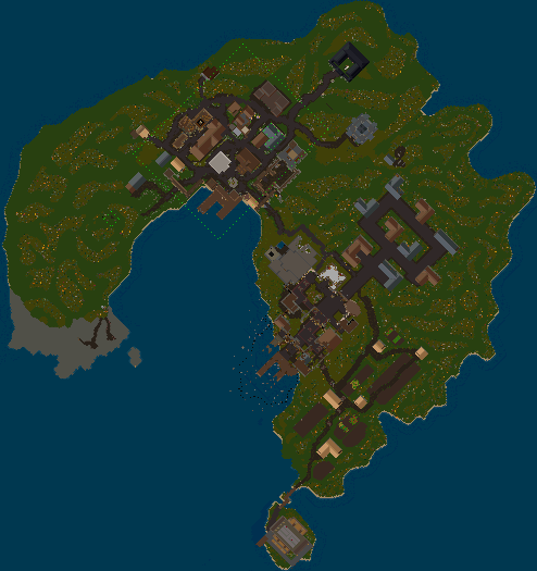 Ultima Online | Location Map Trammel New Haven | UODemiseGuide